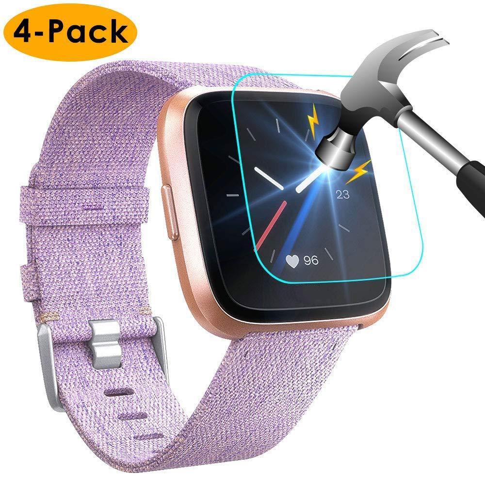 Vidrio Protector Para Fitbit Versa X4 Nanw -7hqg4ll3