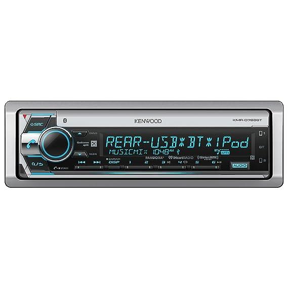 amazon com kenwood kmrd765bt marine cd receiver with bluetooth car rh amazon com kenwood kmr-550u manual kenwood kmr-550u manual