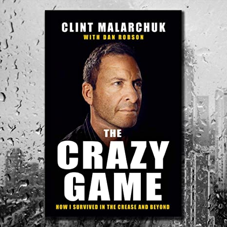 Clint Malarchuk The Crazy Game Hardcover Book At Amazon S Sports