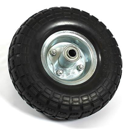 PU Rueda para carretilla, + envío gratuito//Neumáticos goma carretilla Rodamientos Diámetro 260