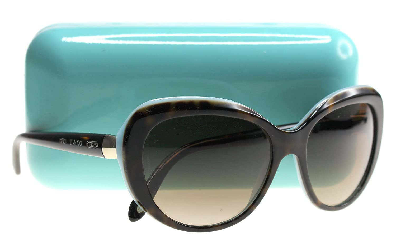 Tiffany - Gafas de sol - para mujer HAVANA/BLUE: Amazon.es ...