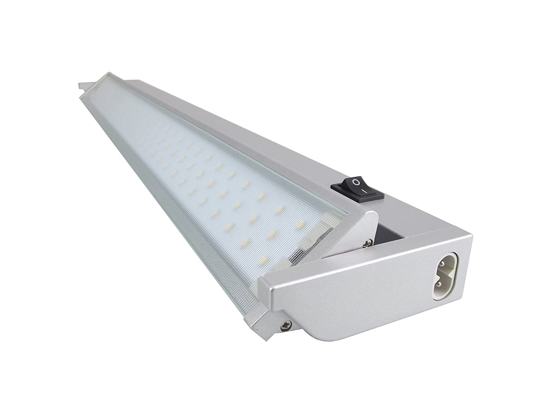 Silber, Rolux LED Unterbauleuchte 9W // warmwei/ß // 913mm lang Aluminium 9 W