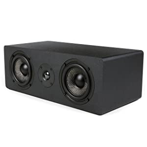 Micca MB42X-C Center Channel Speaker with 4-Inch Woofer (Renewed)