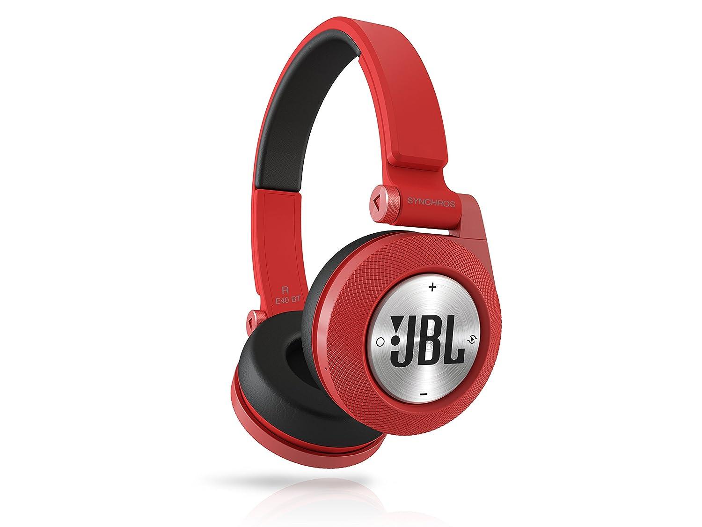639c05e3597 Amazon.com: JBL E40BT Red High-Performance Wireless On-Ear Bluetooth Stereo  Headphone, Red: Electronics