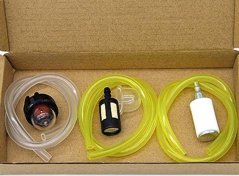 Swnkdg 3er Set Kraftstoffschlauch 2 X 3mm 2 5 X 5mm 3 X 5 5mm Benzinschlauch Ölschlauch Dieselschlauch Pvc Schlauch Baumarkt