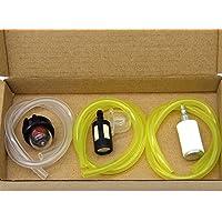 SWNKDG 3er Set Kraftstoffschlauch 2 x 3mm 2,5 x 5mm 3 x 5,5mm Benzinschlauch Ölschlauch Dieselschlauch PVC Schlauch