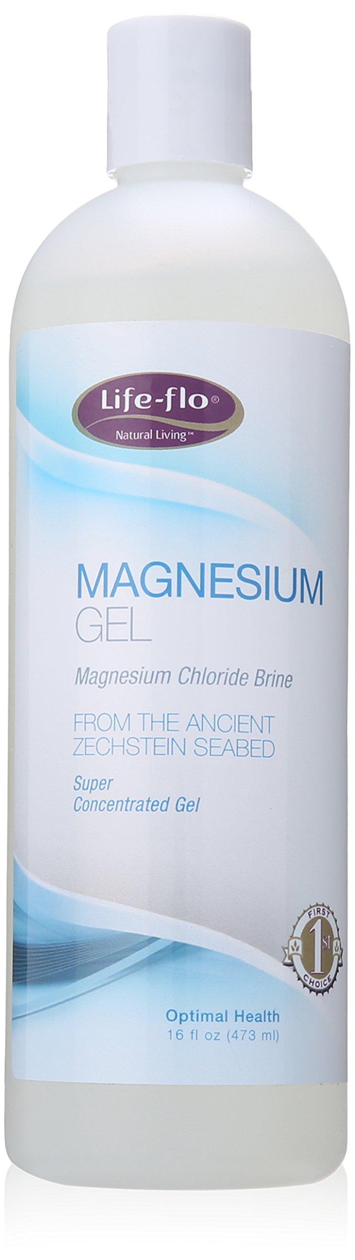 Life-Flo Magnesium Body Gel, 16 Ounce
