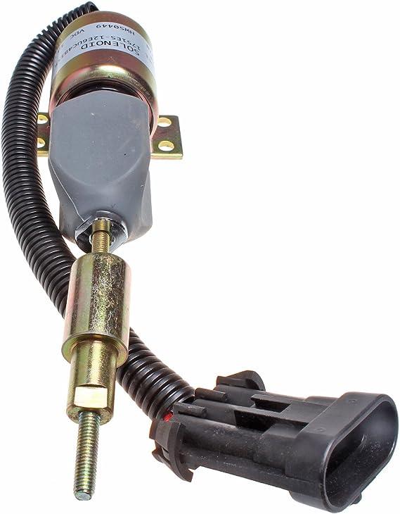 F1HZ-9N392A Fuel Shutoff Solenoid  F1HZ9N392A 12V SA-3850-12 For Ford 7.8L Truck