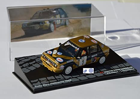 Coches Rally IXO 1:43 1/43 Lancia Delta Integrale F. Tabaton/