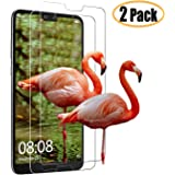 KMJIA [2 Pack] Screen Protector for Huawei P20 Pro, [New Version] [Bubble-Free] [9H Hardness] [HD Clear] TPU 3D Edge to Edge Tempered Glass Film