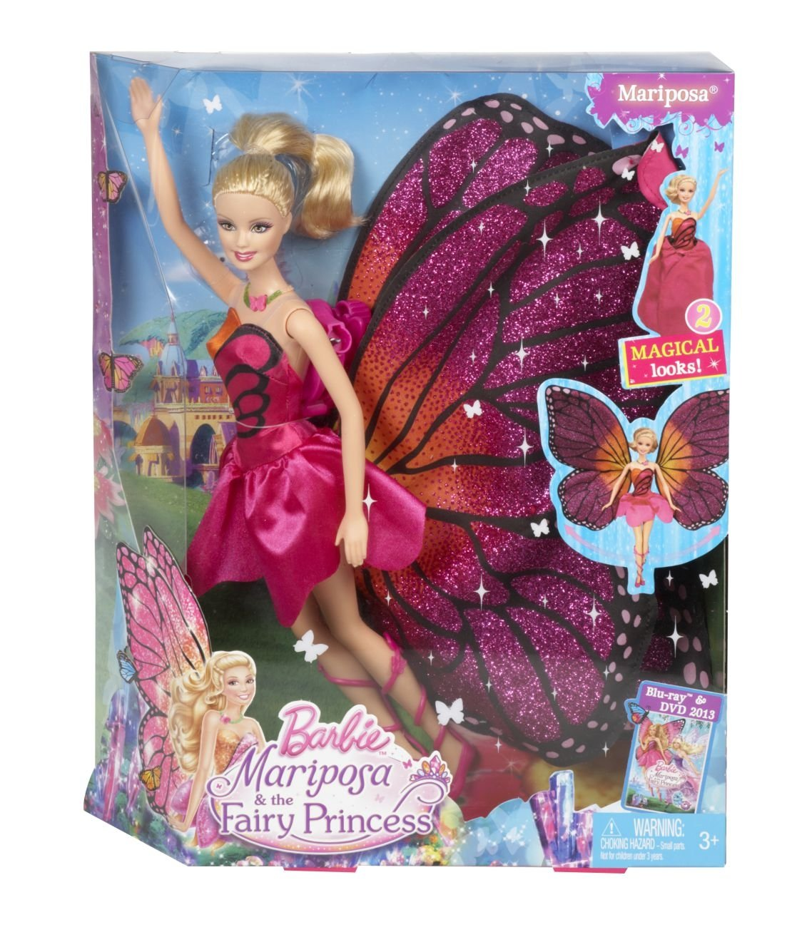 Buy Barbie Mariposa and the Fairy Princess Doll Online at Low