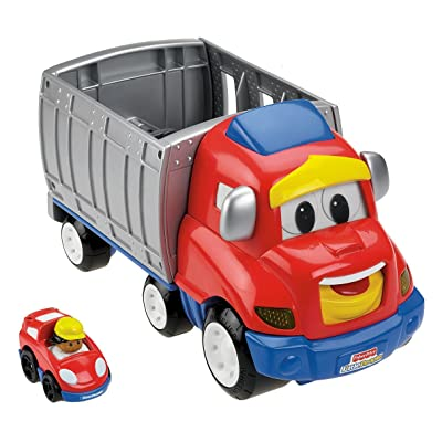Fisher-Price Little People Wheelies Zig The Big Rig: Toys & Games