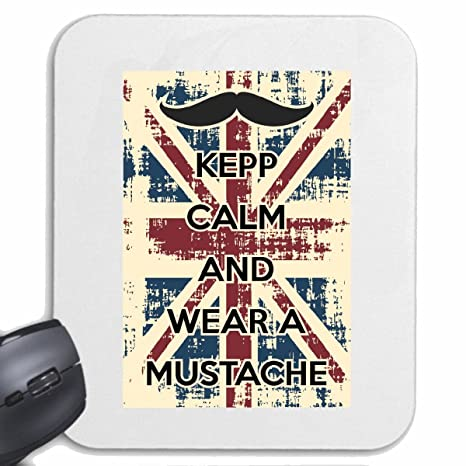 Mousepad alfombrilla de ratón KEEP CALM y use un BIGOTE INGLATERRA LONDRES BIG BEN REINO VIDA ...