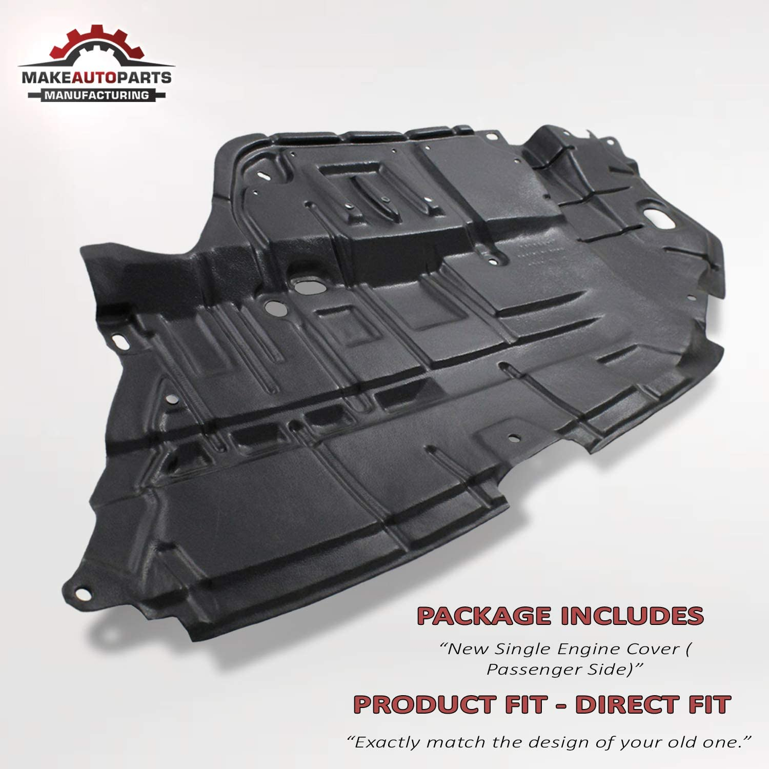 CAMRY 2012-2014 ENGINE COVER UNDERTRAY RIGHT 5144106150 FOR TOYOTA ...