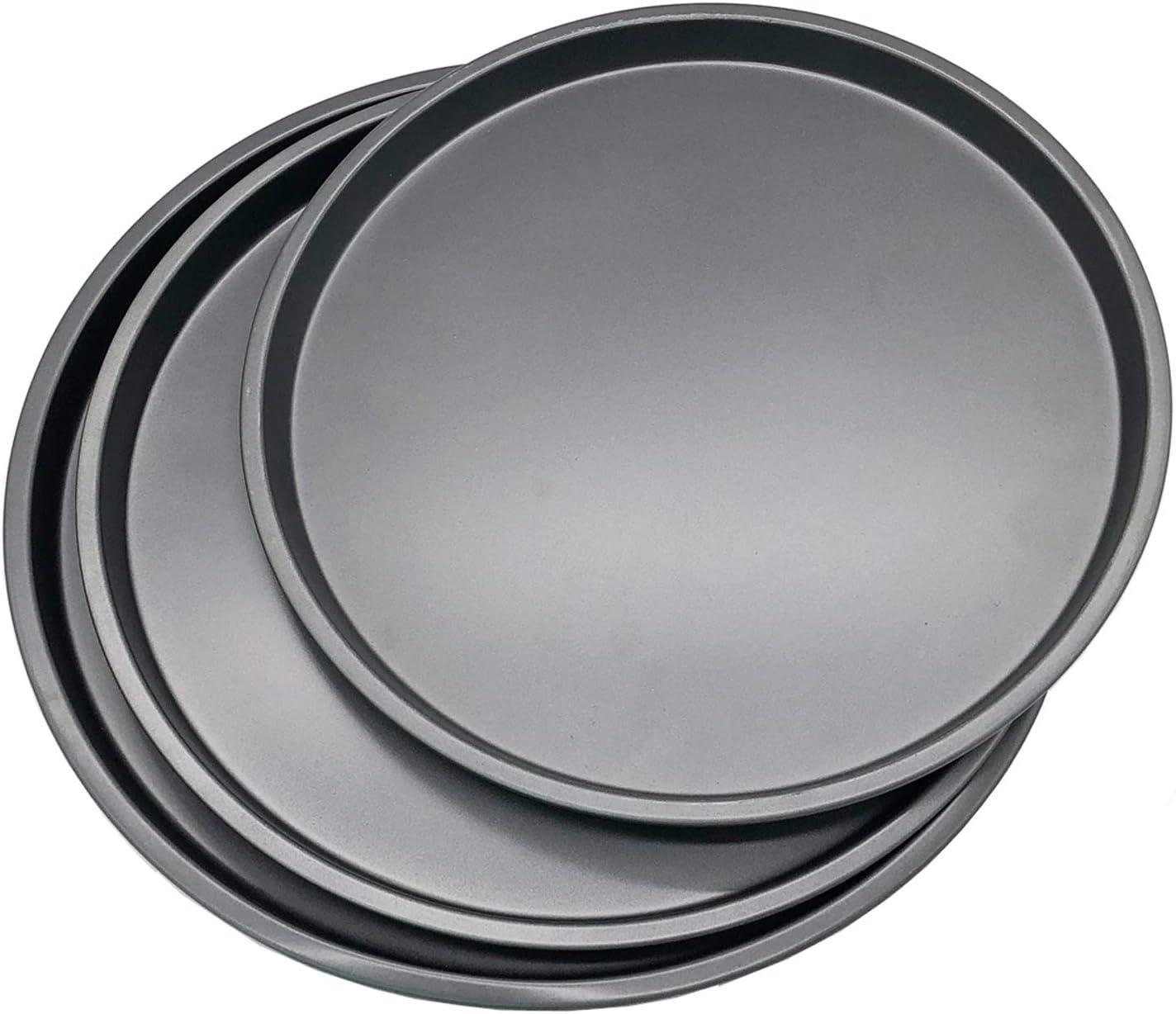 Waytiffer 3Pcs Pizza Pans Set Bakeware Set (10