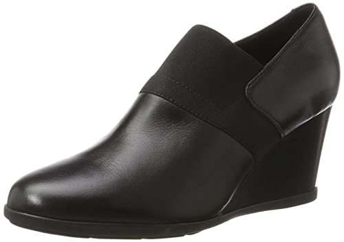 b2336afeb165 Geox Women s D Inspiration Wedge a Dress Pump  Amazon.co.uk  Shoes ...
