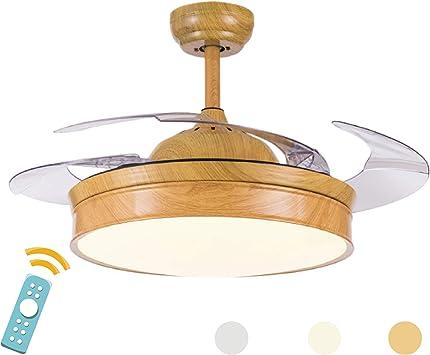 Bombilla simple luz del ventilador simple lámpara de la habitación ...