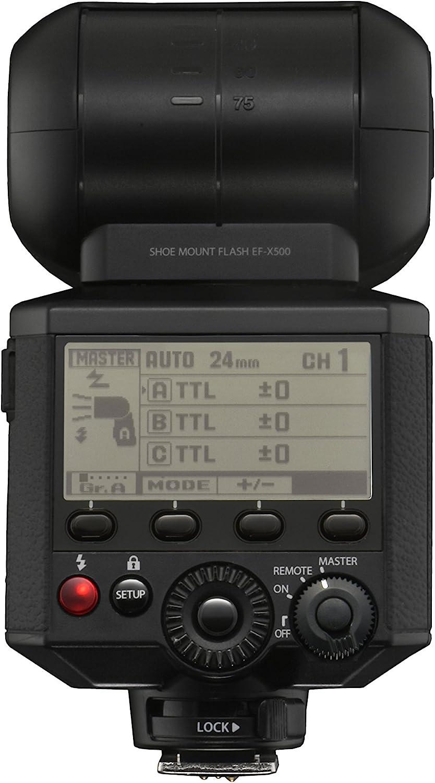Fujifilm EF-X500 - Flash, negro