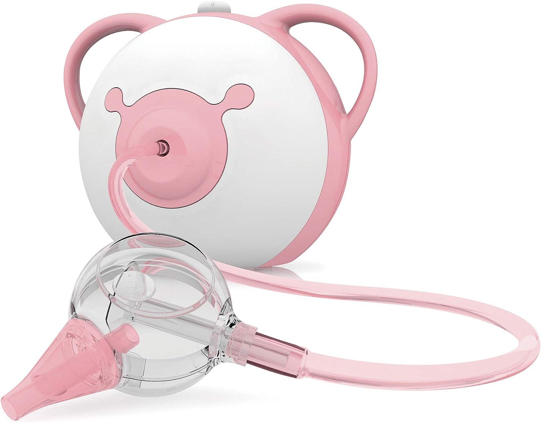 Aspirador Nasal Nosiboo Pro para bebés- electrico: Amazon.es: Bebé