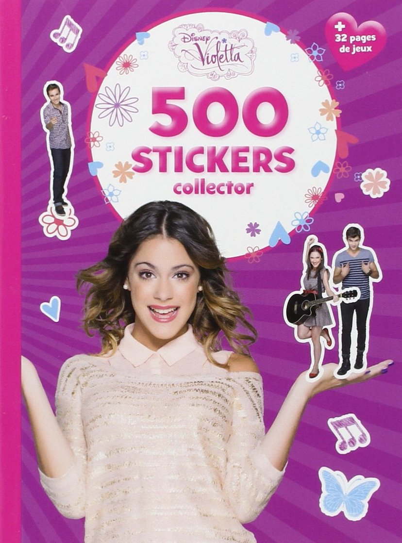 amazonfr violetta 500 stickers collector disney livres