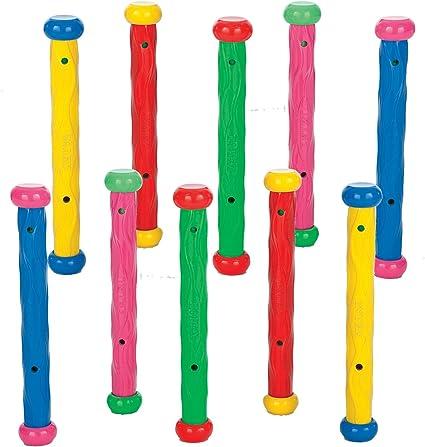 55504 Intex Underwater Swimming// Diving Swimming Pool Toy Play Sticks 15 Pack