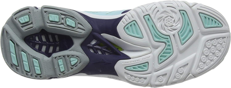 43 EU blau Mizuno Unisex-Erwachsene Wave Lightning Z5 Volleyballschuhe