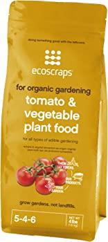 EcoScraps For Organic Gardening Fertilizers For Tomatoes And Peppers
