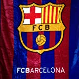 """FCB Barcelona Luxury Plush Blanket Queen 79""""x94"""""""