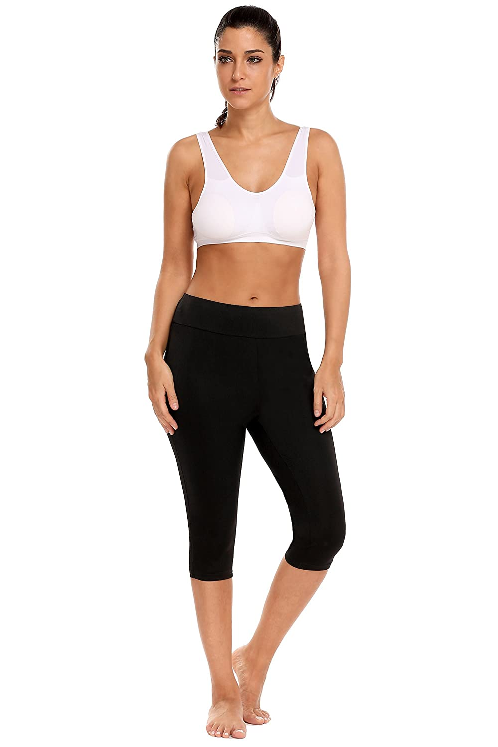 7b4b2c5ac59b0 BODY GLOVE BREATHE WORK IT CAPRI:The sports tights adopted a breathable  base layer that keeps you cool and enhance blood circulation,the material  is more ...