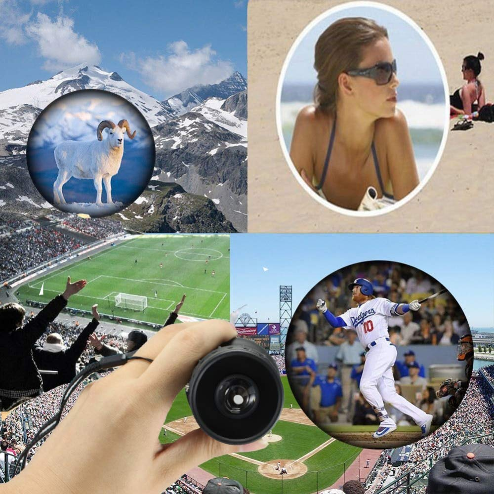 Monocular/Binoculars | New Travel 16x52 Monocular HD Telescope Dual Focus Zoom Powerful Monocular Binoculars High times For Bird|watching Gifts Best | by HERIUS by HERIUS