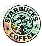 STARBUCKS スターバックス ロゴシール/ステッカー マット加工