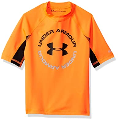 5bdcaae124 Amazon.com: Under Armour Boys' Ua Comp Short Sleeve T-Shirt ...