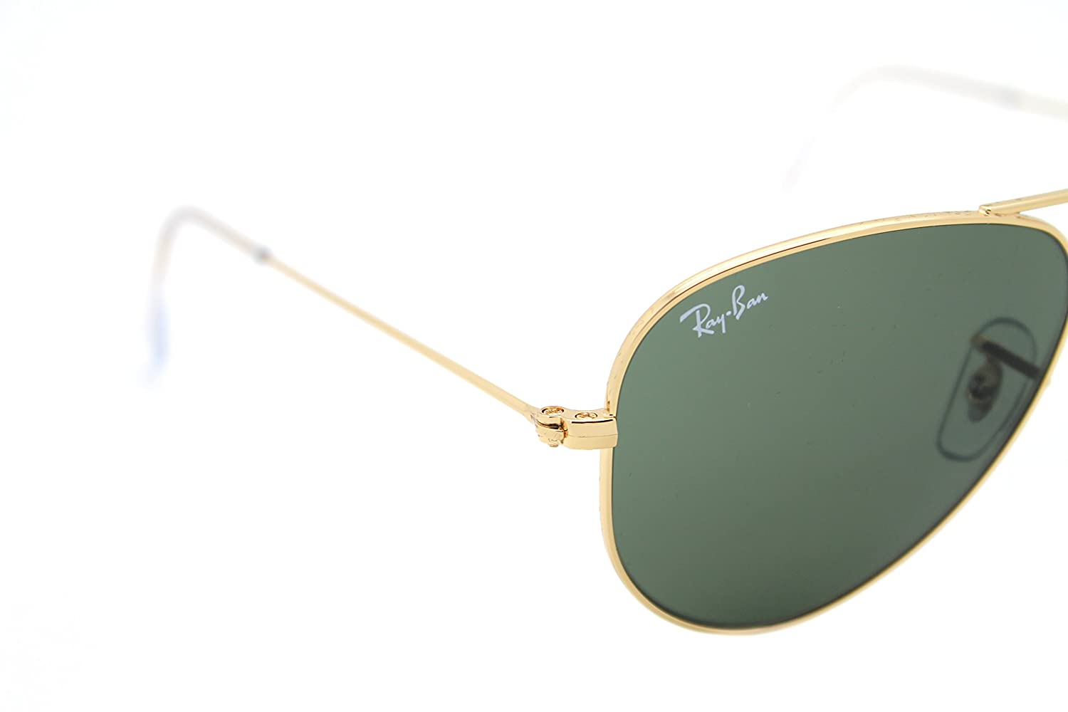 684d56246d Amazon.com  RAY BAN AVIATOR RB 3044 L0207 52mm GOLD FRAME W  G-15XLT GREEN SUNGLASSES  SMALL  Shoes