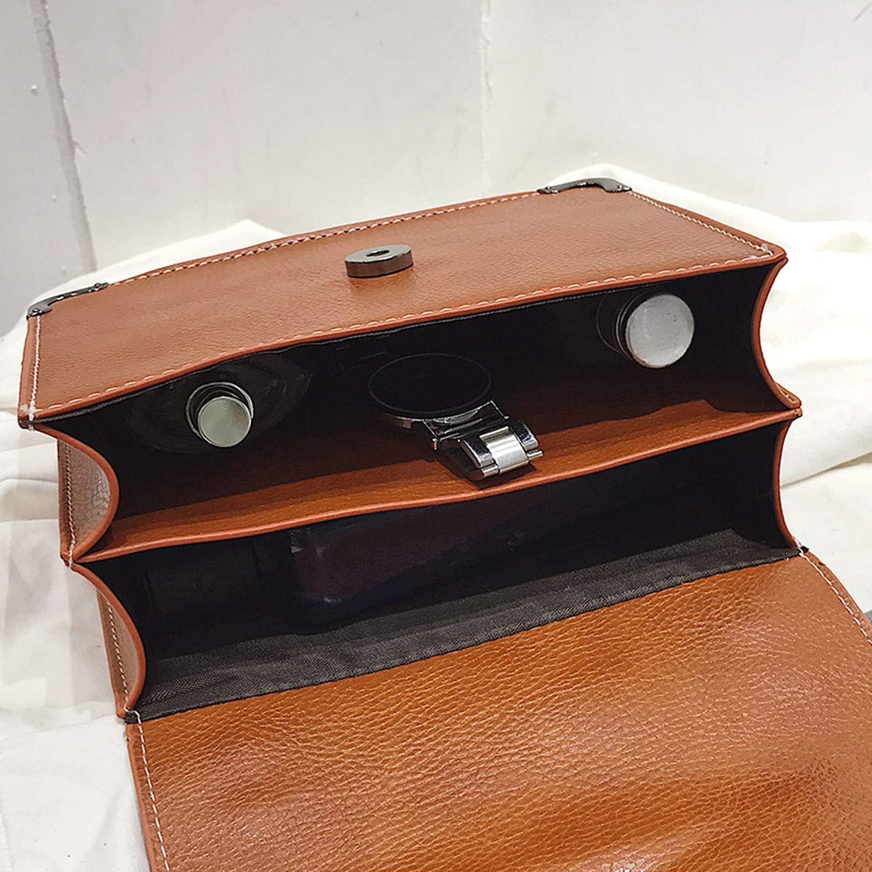 Flap Fashion Female Square Bag New Quality PU Leather Womens Handbag Rivet Lock Chain Shoulder Messenger Bags