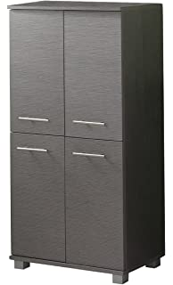 Badschrank in Grau 60 cm breit Pharao24: Amazon.de: Küche & Haushalt
