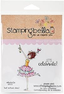Stamping Bella Winobella Cling Stamp, 6.5