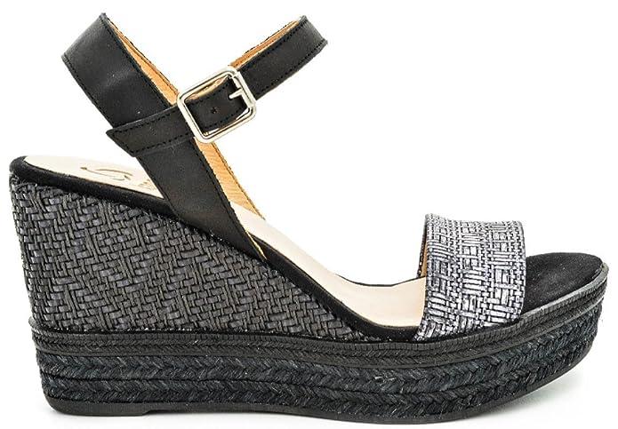 KANNA KV6223 MARTIN-BAL NEGRO loggi-calzature neri Cotone Comprar Grandes Venta Barata Para El Buen Toma Barato Footlocker Aclaramiento MAytmtFDHQ