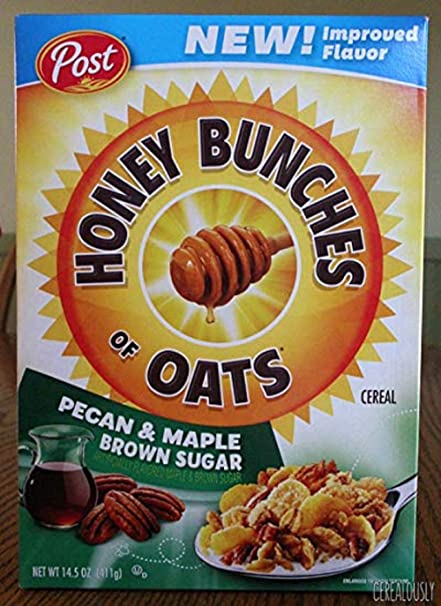 Amazon.com: NEW! Honey Bunches of Oats Pecan & Maple Brown Sugar 14.5 oz (2 Pack):