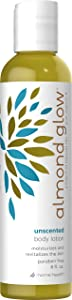Home Health Almond Glow Body Lotion, Unscented, 8 Fluid Ounce