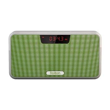 Rolton E300 Altavoz portátil Bluetooth estéreo inalámbrico con Power Bank FM Radio de Gama Completa Amplia compatibilidad: Amazon.es: Electrónica