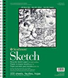 """Strathmore 400 Series Recycled Sketch Pad, 11""""14"""" Wire Bound, 100 Sheets"""