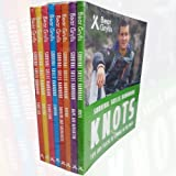 Bear Grylls Survival Skills Handbook Collection 8 Books Set (Knots, Maps and Navigation, Hiking, Dangers and Emergencies, Camping, Signalling, Tracking, First Aid)