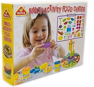 Leo & Emma - Juego de plastilina con caja de juego (multiactividad): Amazon.es: Juguetes y juegos
