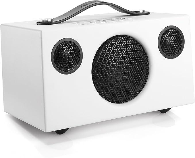 Audio Pro Addon C3 Portable Multiroom Speaker - White: Amazon.co.uk: Hi-Fi & Speakers