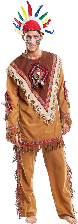 chiber Disfraces Disfraz de Indio Navajo Adulto (XL - Extra Grande ...