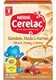 Nestlé Cerelac Baby Food, Wheat, Honey and Dates, 250g
