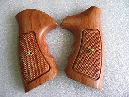 New Taurus Medium/Large Frame Revolver grip,  357, 6 Shot, Hardwood-Thai  Handmade and Ship from Thailand By Feelsogood