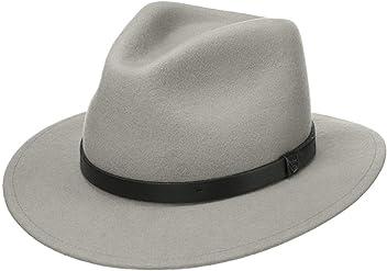 Brixton Mens Messer Medium Brim Felt Fedora Hat