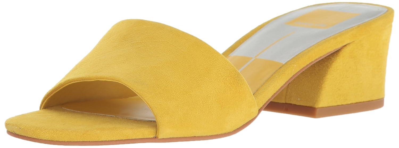 Dolce Vita Women's Rilee Slide Sandal B06XGKX45C 9 B(M) US Yellow Suede