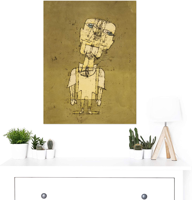 Paul Klee Gespenst Eines Genies Ghost Of A Genius Giclee Paper Print Poster